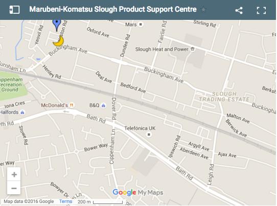Product Support Centre Slough Komatsu