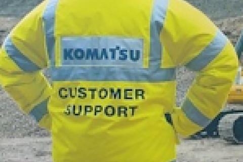 Product Support Centre Komatsu Slough