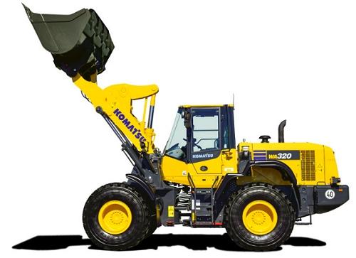 Komplete wheel loader WA320-7
