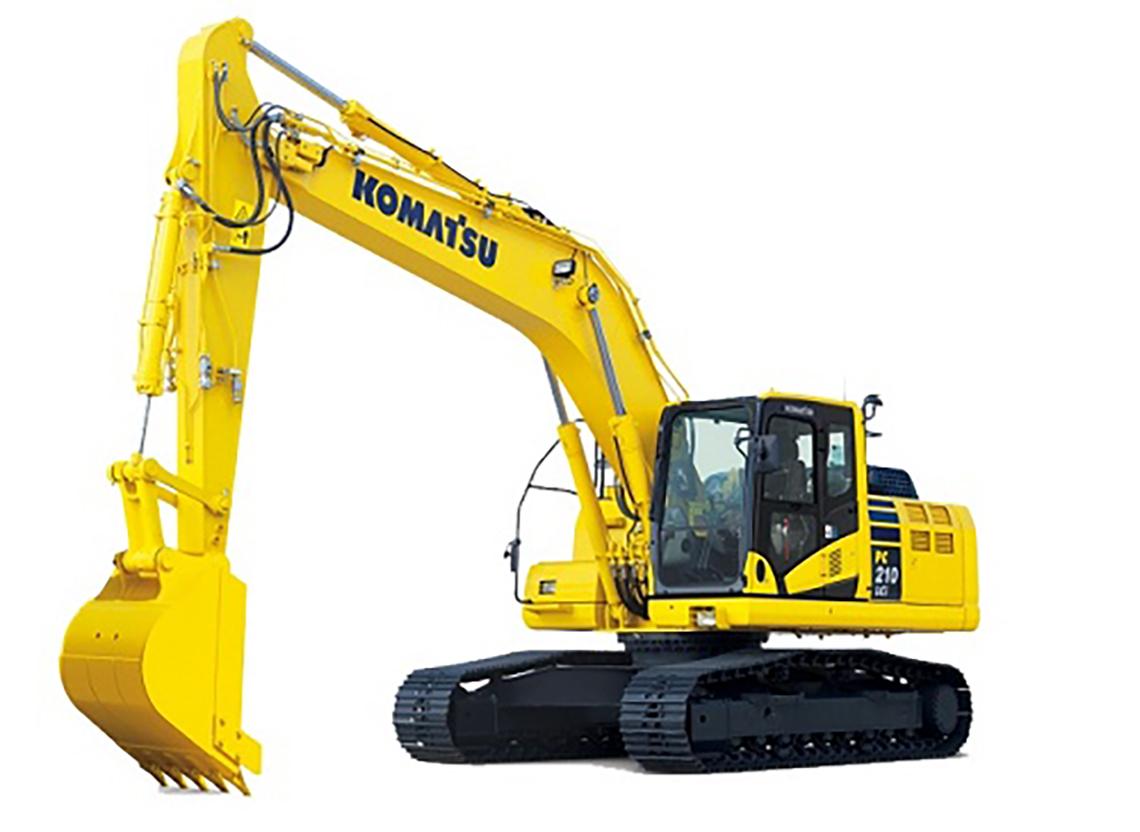 hydraulic attachments PC210LCi