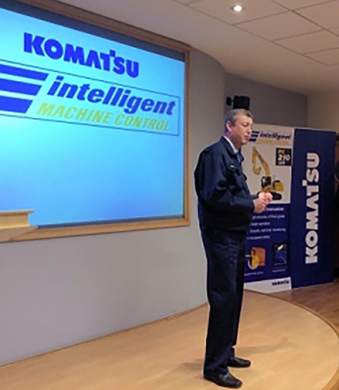 PC210LCi-10 Komatsu intelligent machine control launch