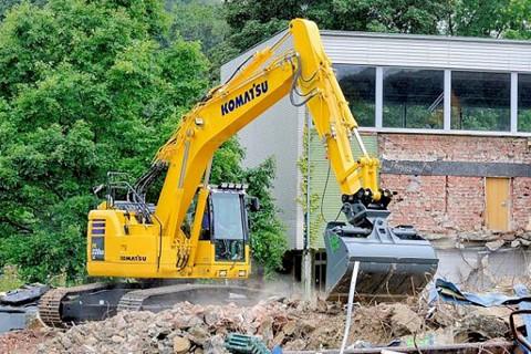 PC228USLC-10 Short Tail Komatsu excavator digger