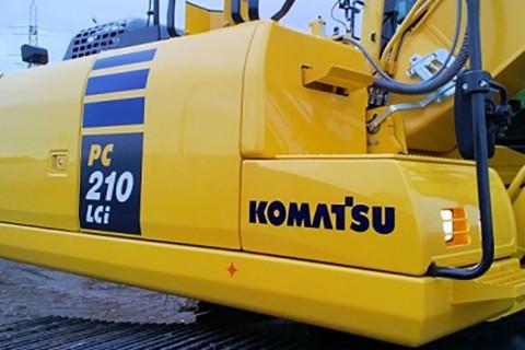 First UK Sale Komatsu pc210lci intelligent machine control
