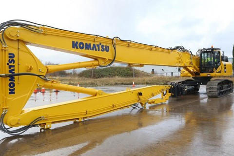 PC490LC-10 HRD Komatsu demolition excavator PC490LC-10 HRD