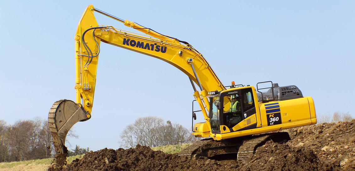 Komatsu PC360LC-11 Hydraulic Excavator - Marubeni Komatsu