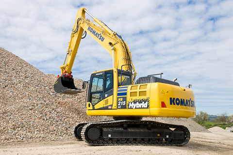 Komplete for the Komatsu HB215LC-2 and HB365LC-3 Hybrid tracked excavators