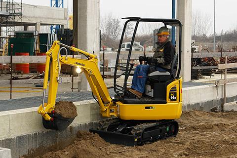 PC14R-3 mini excavator komatsu