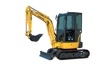 PC26MR-3 mini excavator