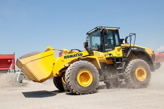 benefits of komtrax Komatsu wheel loader auto grease added value komatsu wheel loaders standard