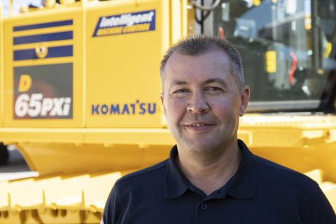 Rob Wilmott 2018 Komatsu Marubeni-Komatsu Excavator Hillhead Sales Manager Contact Us