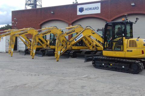 Howard Civil Engineering Komatsu Diggers