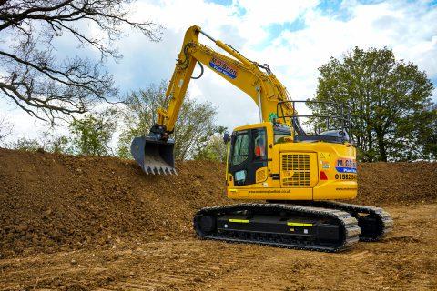 M O'Brien Plant Hire renews fleet with Komatsu excavators
