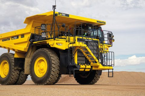 Introducing the Komatsu HD785-8 Rigid Dump Truck