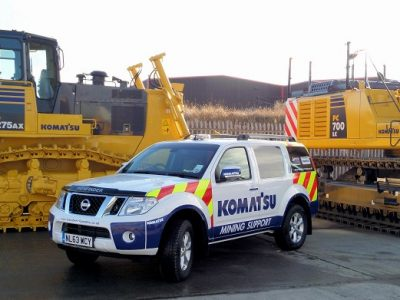 Komatsu-Mining-Support-Van