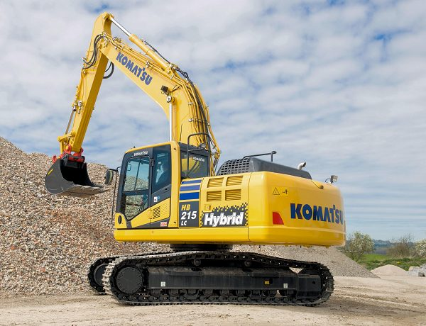 Hybrid Komatsu diggers excavators Marubeni-Komatsu machine heavy equipment HB215LC HB215 HB215LC-2 Hybrid