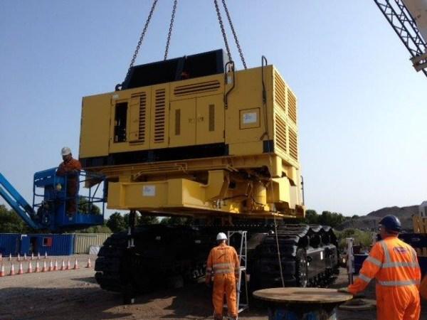 200 Tonne Komatsu excavator