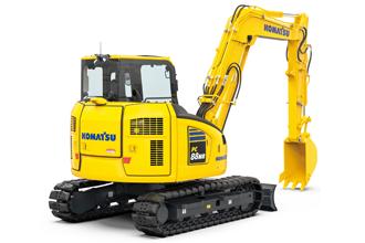 Introducing the new Komatsu PC88MR-11 Midi Excavator