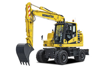 Introducing the new PW158-11 wheeled excavator
