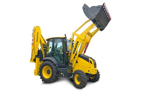 Introducing the new Komatsu WB97R-8 Backhoe Loader