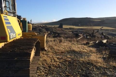 Midwest Plant bulldozer komatsu