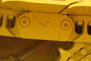 undercarriage Komatsu Parts rubber track