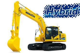 HB215-3 komatsu hybrid excavator