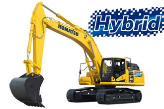 HB365 hybrid excavator Komatsu