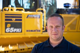 Ben Poliquin 2018 Product Support Marubeni-Komatsu Komatsu Digger excavator bulldozer parts