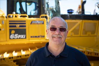 John Taylor 2018 Product Support Marubeni-Komatsu Komatsu Digger excavator bulldozer parts