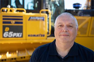 Martin Jones 2018 Product Support Marubeni-Komatsu Komatsu Digger excavator bulldozer parts