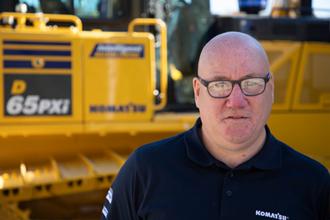 Michael Paterson 2018 Product Support Marubeni-Komatsu Komatsu Digger excavator bulldozer parts