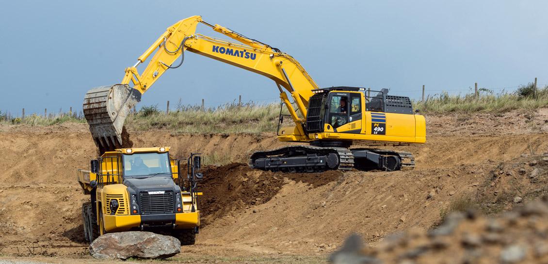 Komatsu PC490LC-11 Hydraulic Excavator - Marubeni Komatsu