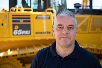 Paul Bennett 2018 Product Support Marubeni-Komatsu Komatsu Digger excavator bulldozer parts