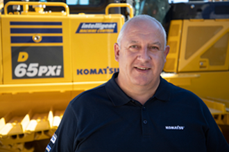 Tony Bull 2018 Product Support Marubeni-Komatsu Komatsu Digger excavator bulldozer parts