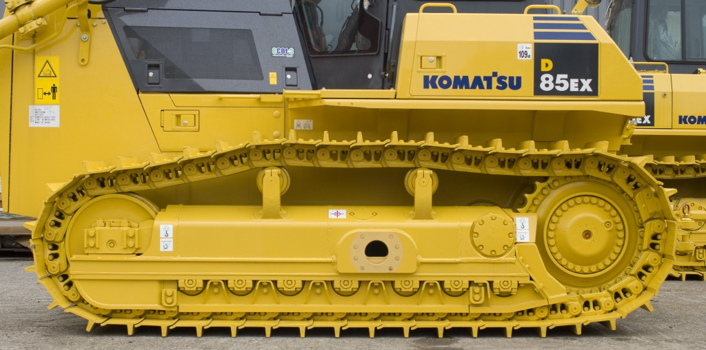 undercarriage maintenance tips Komatsu bulldozer excavator track