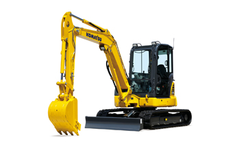 PC55MR-5 Mini Excavator