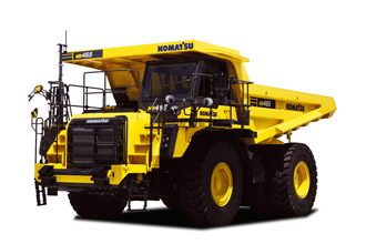 HD465-8 Rigid Dump Truck