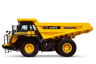 HD605-8 Rigid Dump Truck