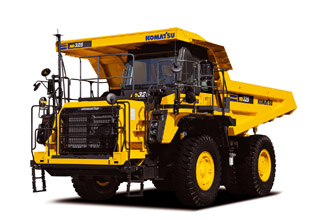 HD325-8 Rigid Dump Truck