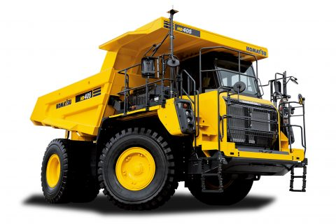 HD405-8 Rigid Dump Truck