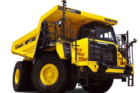 HD465‐8 Dump truck rigid