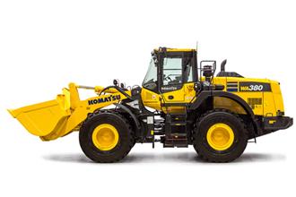 WA380-8 wheel loader new machines Komatsu Marubeni-Komatsu shovel