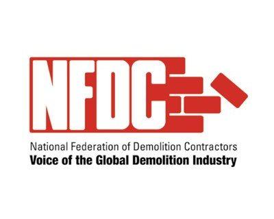 NFDC Komatsu sponsor demolition machines