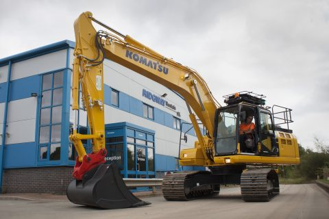 ridgway rentals new Komatsu machines