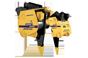 Hydraulic attachments Komatsu Marubeni-Komatsu Xcentric Ripper Breaker
