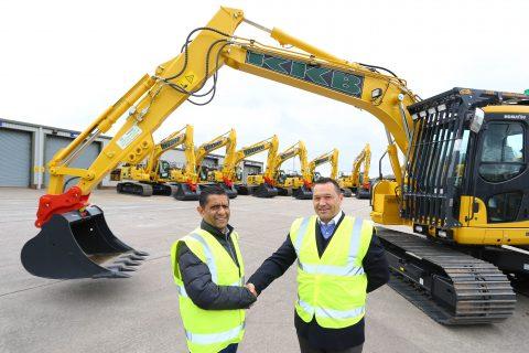 KKB Group Colin Basi Excavator deal komatsu machines
