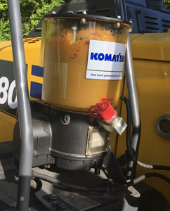 auto grease added value komatsu wheel loaders standard