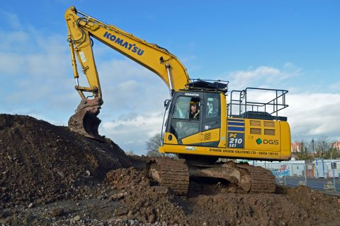 DGS Dozer Komatsu bulldozer dynamic ground solutions intelligent machine control technology Komatsu