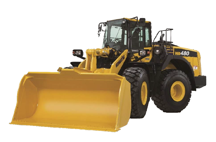 Marubeni-Komatsu introduces the WA480 wheel loader