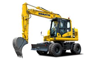 PW148-11 Komatsu Wheeled Excavator